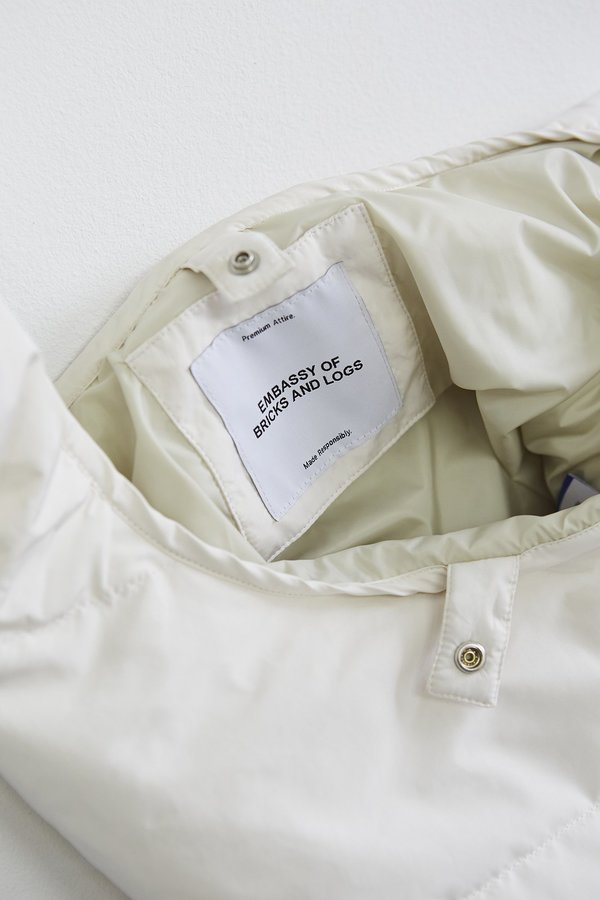 Embassy Of Bricks & Logs Lysekil Bag - Off White