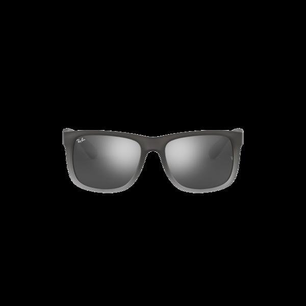 Ray-Ban Justin Rubber On Clear 0RB4165-852/88 eyewear - Grey