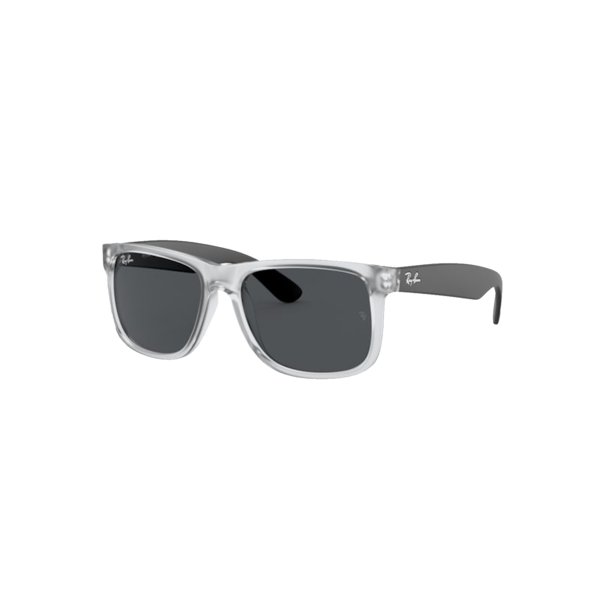 Ray-Ban Justin Rubber Transparent 0RB4165-651287 eyewear - gray