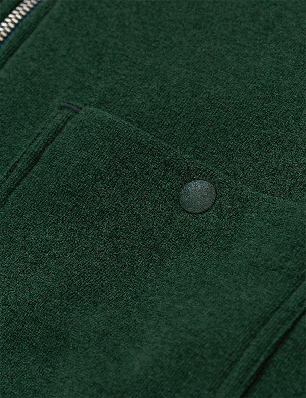 Norse Projects Jorn Fleece Half Zip - Dartmouth Green