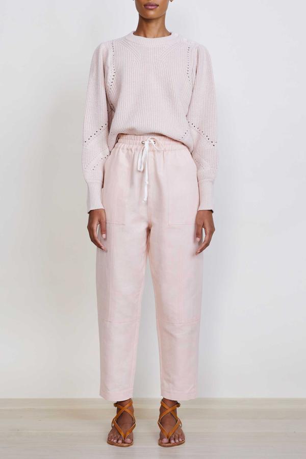 Apiece Apart Surf Pant - Ballet Pink