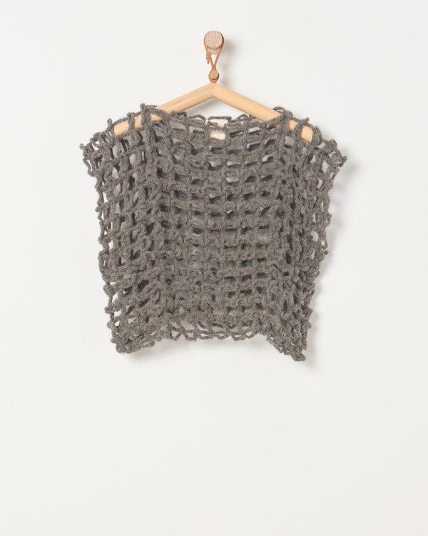 Milena Silvano Loop Sweater - Concrete