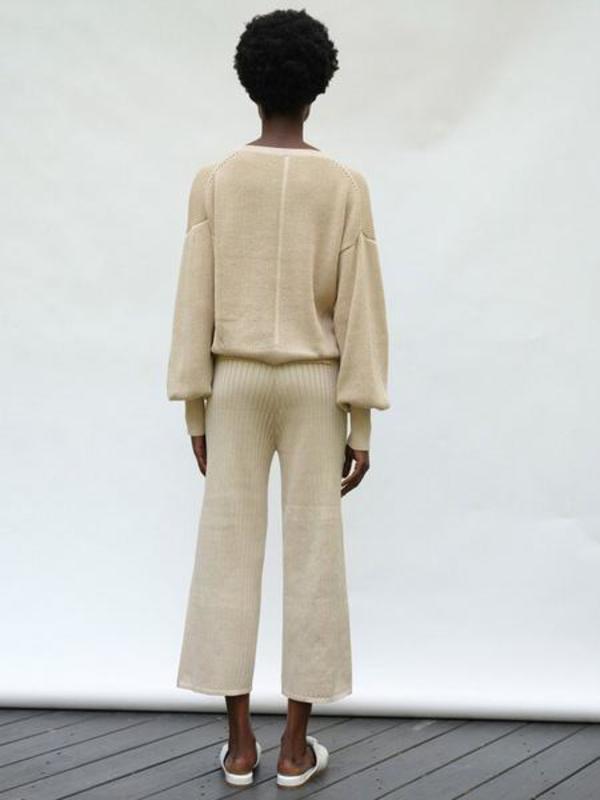 ELEVEN SIX Layla Sweater - Wheat