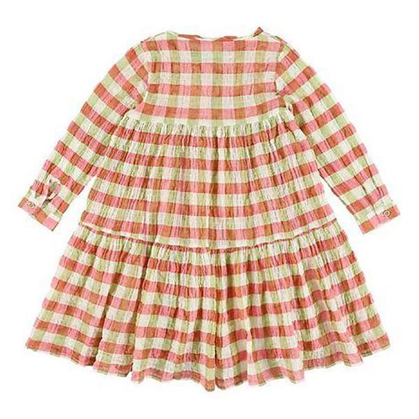 KIds Morley Hippie Dress - May Check Print