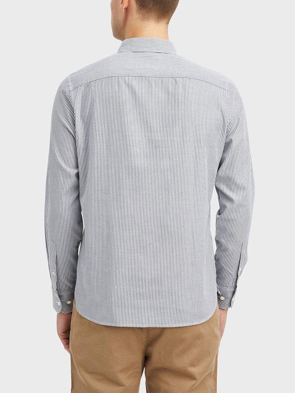 O.N.S Fulton Heather Stripe Shirt - Black/White