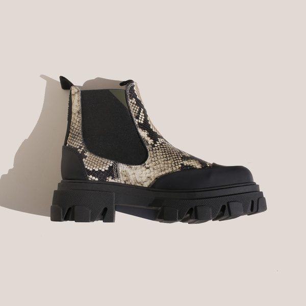 Ganni Low Chelsea Boot - Kalamata