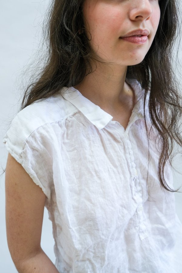 CP Shades Claire Top - White Linen