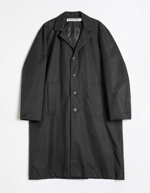Schnayderman's Belted overcoat - black
