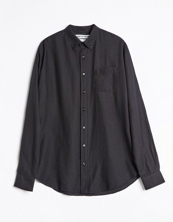Schnayderman's Bd Light Twill Shirt - Black