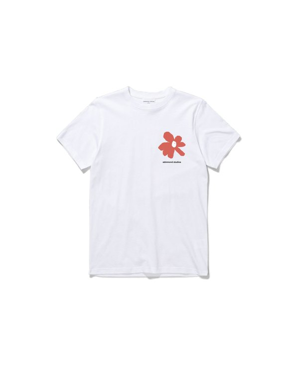 Edmmond Studios Camiseta Fleur - White