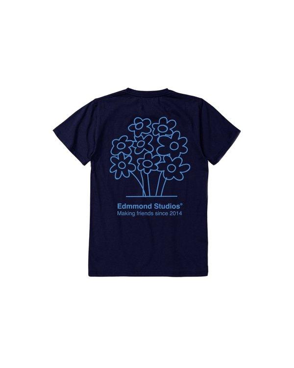 Edmmond Studios Camiseta Pro Flower - Navy