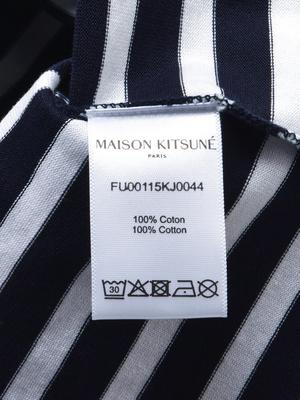 Maison Kitsuné TRICOLOR FOX PATCH CLASSIC MARIN TEE-SHIRT - NAWH