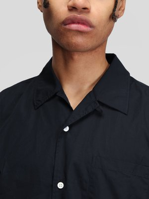 Norse Projects Carsten Poplin Shirt - Dark Navy
