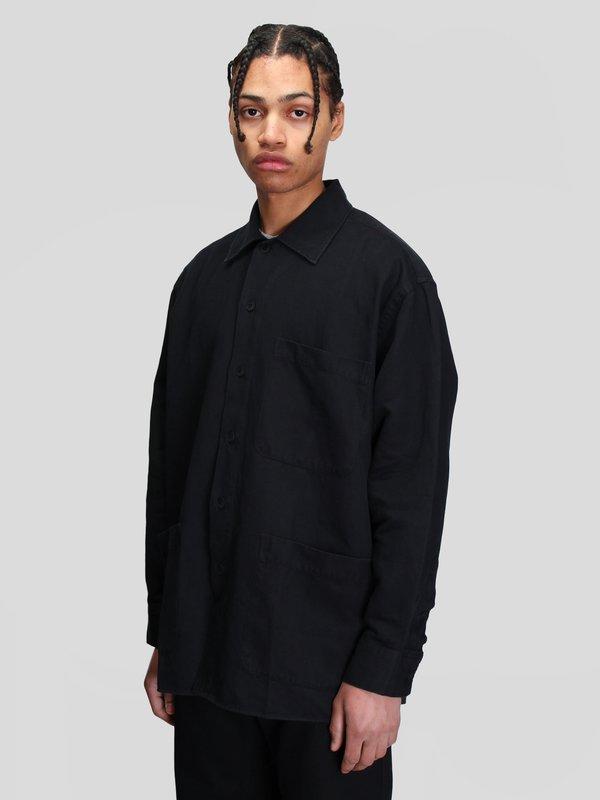 Schnayderman's Oversized Overshirt - Black