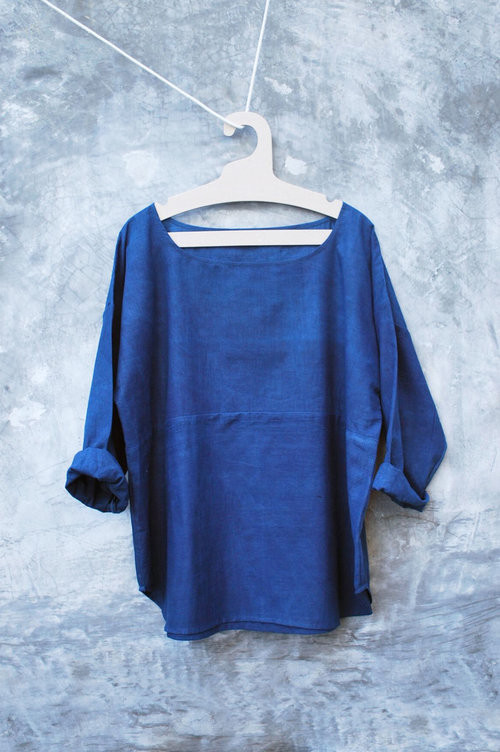 PO-EM Everyday Top, Deep Indigo