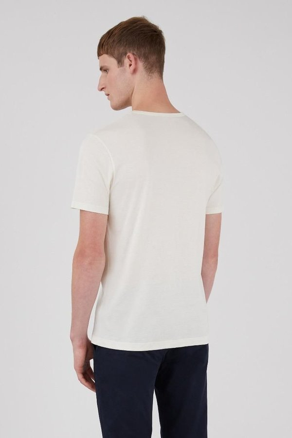 Sunspel Classic crew neck t-shirt - archive white