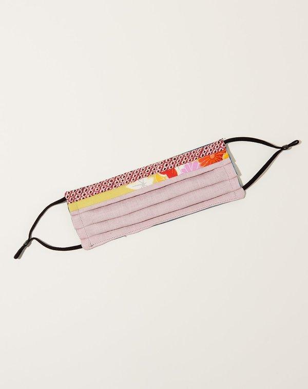 Sweet Seed Textiles Kimono Silk VIII Face Mask - multi