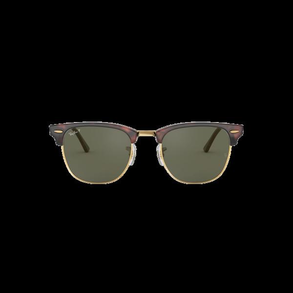 Ray-Ban Club Master 0RB3016-990/58 eyewear - Red/Havana/Green Polarized