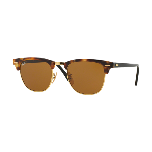 Ray Ban Club Master sunglasses - Spotted Brown Havana