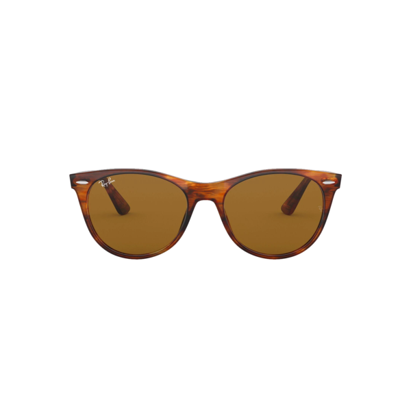 Ray-Ban Wayfarer II 0RB2185-954/33 eyewear - Striped Havana