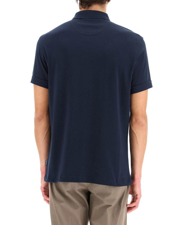 Barbour Cotton Polo Shirt - blue