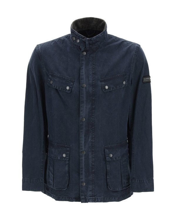 Barbour Duke Cotton Jacket - blue