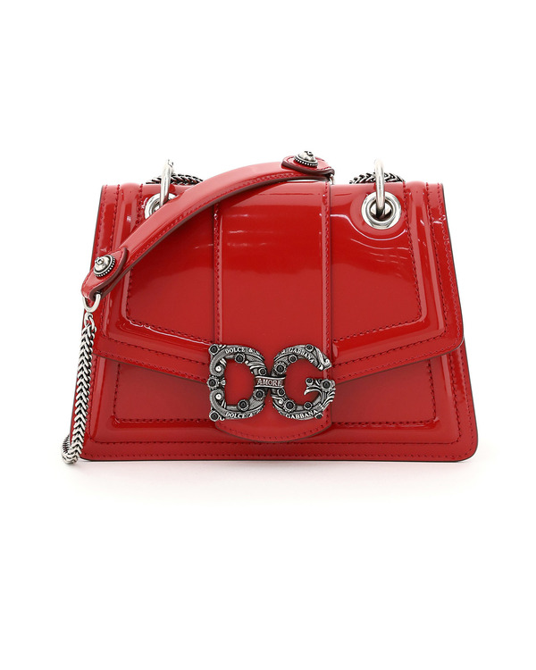 Dolce & Gabbana Dg Amore Mini Bag - red