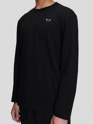 Comme des Garçons Play Long Sleeve T-Shirt - Black