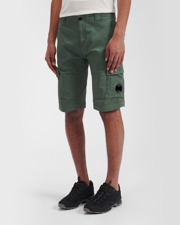 C.P. Company Bermuda Cargo Shorts - Olive