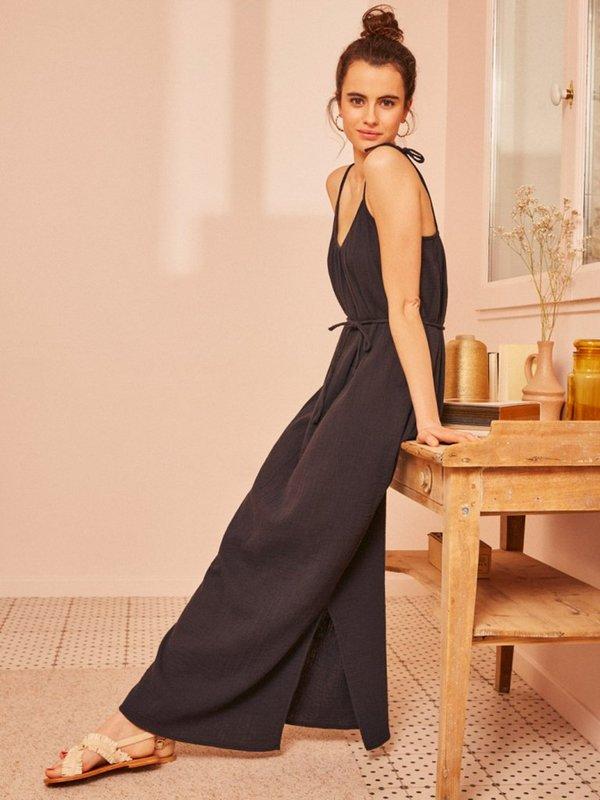 Des Petits Hauts Tiany Maxi Dress - Black