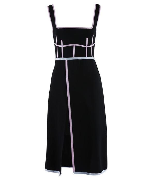 I Am Chen Knit Dress - Black