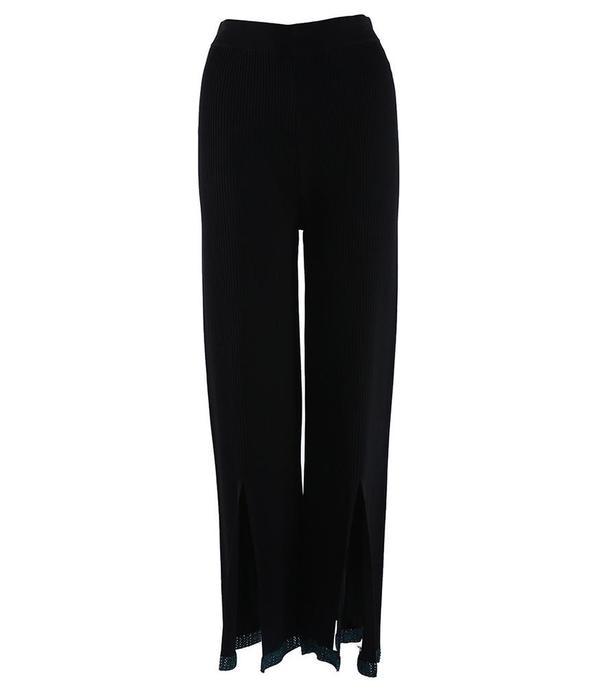 I Am Chen Knit Pants - Black