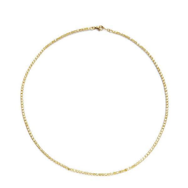 Nickho Rey Tish Tennis Necklace - Gold