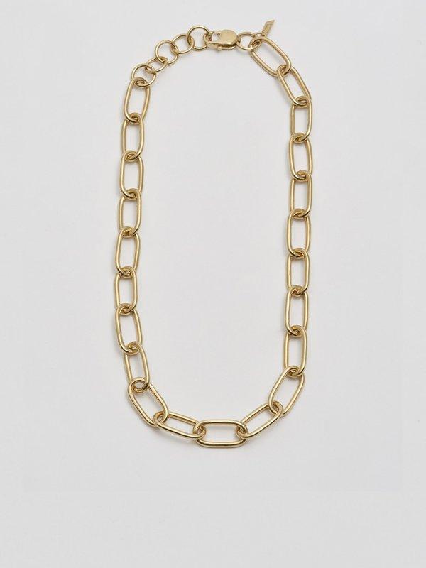 Loren Stewart Industrial XXL Long Link Necklace - Gold