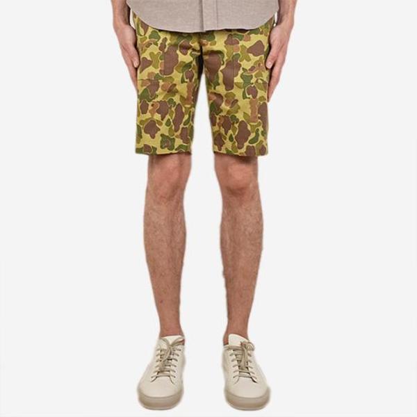 Outclass Safari Shorts - Frogskin Camo
