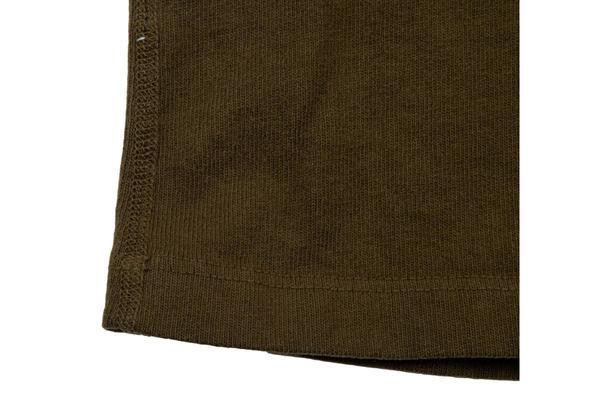 Freenote Cloth 13 Ounce Long Sleeve Henley - Olive