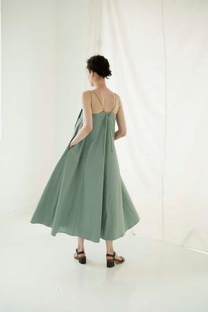 Sayaka Davis M Strap Dress - Sage