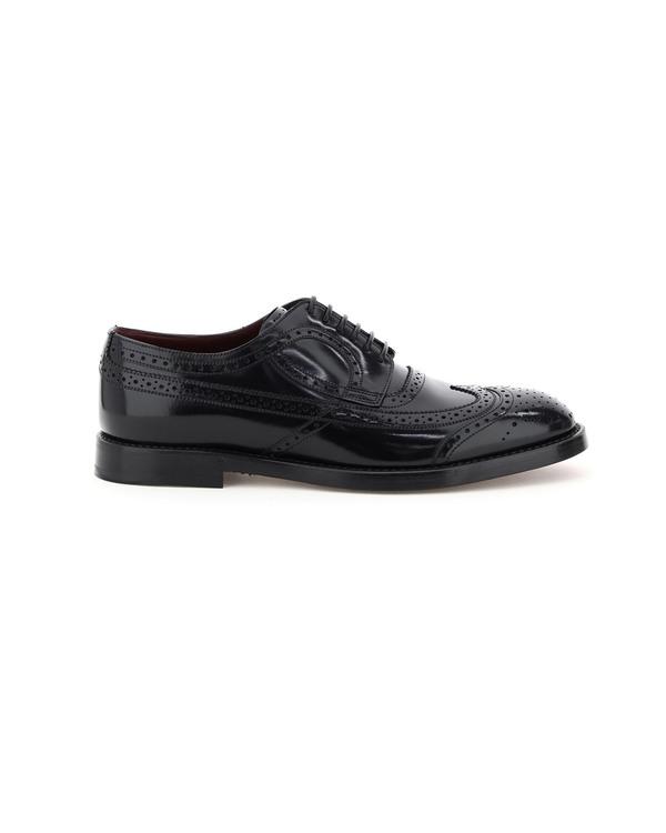 Dolce & Gabbana Giotto Brogue Shoes - black