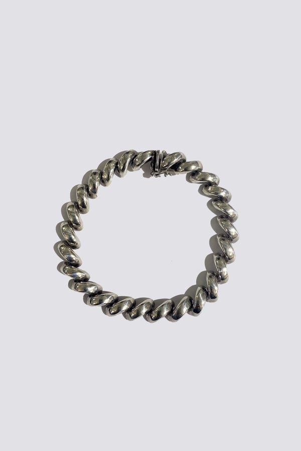Vintage Mac Link Bracelet - Sterling Silver