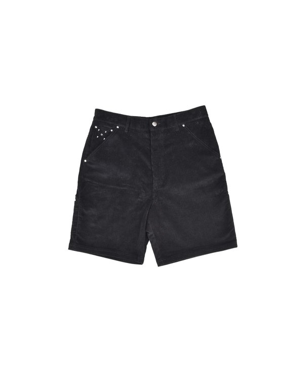Pop Trading Company DRS Short Corduroy shorts - Black