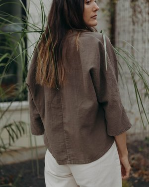 Esby LILY TOP - BASIL
