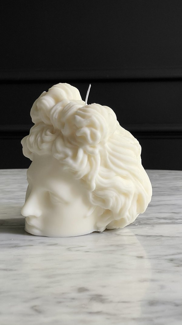 The Busted Gentleman Apollo Sculpture Candle