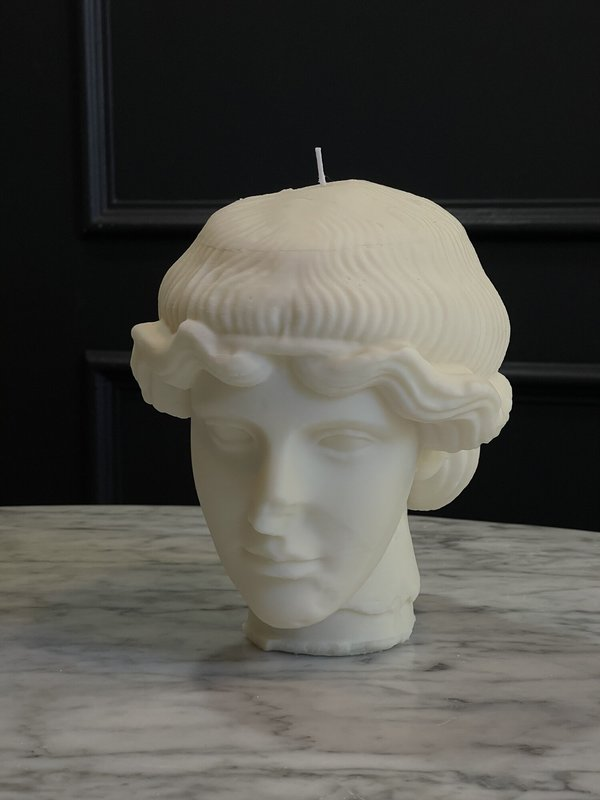The Busted Gentleman Orpheus Sculpture Candle