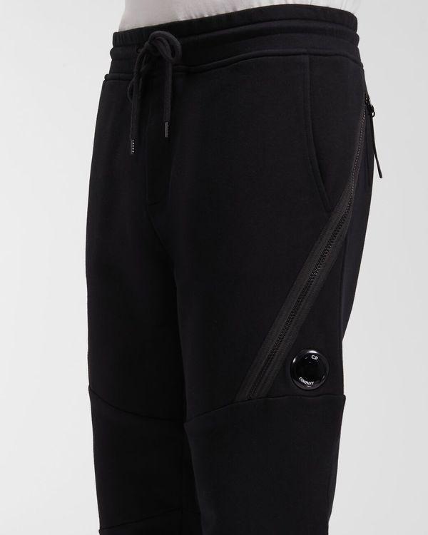 CP company Diagonal Raised Fleece Utility Sweatpants - Gargoyle