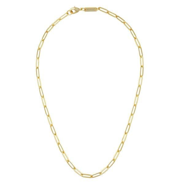 "Machete Petite Paperclip 18"" Chain Necklace"