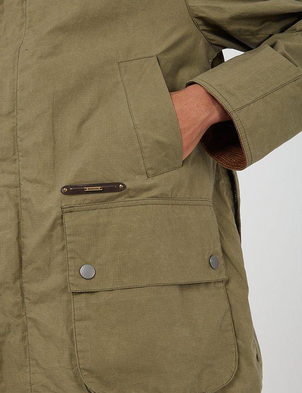 Barbour Gold Standard Ripstop Beaufort Casual Jacket - Dusky Green