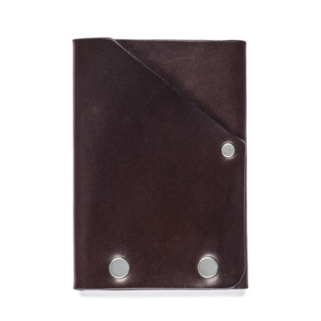 American Bench Craft Steel Riveted Leather Front Pocket Wallet
