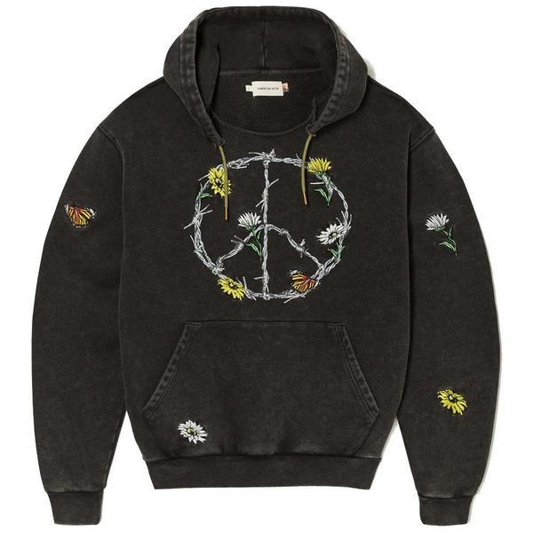Honor The Gift Iron Peace Hoodie - Black