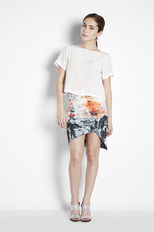 Bec & Bridge Fire & Ice Skirt