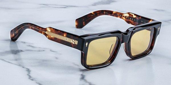 Unisex Jacques Marie Mage Hemmings sunglasses - Dark Havana
